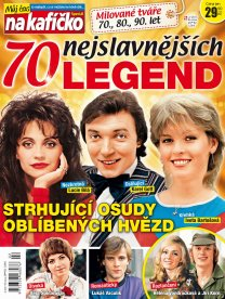 Časopis Můj čas na kafíčko legendy