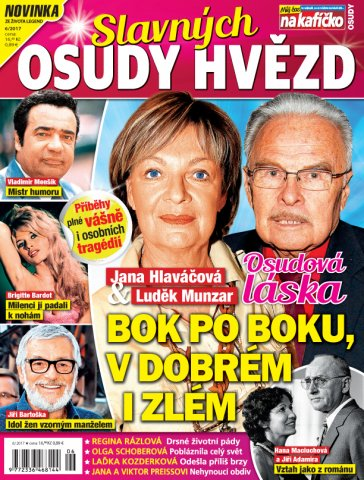 Časopis Osudy slavných hvězd