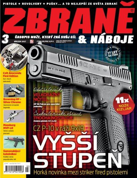 Aktuální číslo časopisu Zbraně a náboje