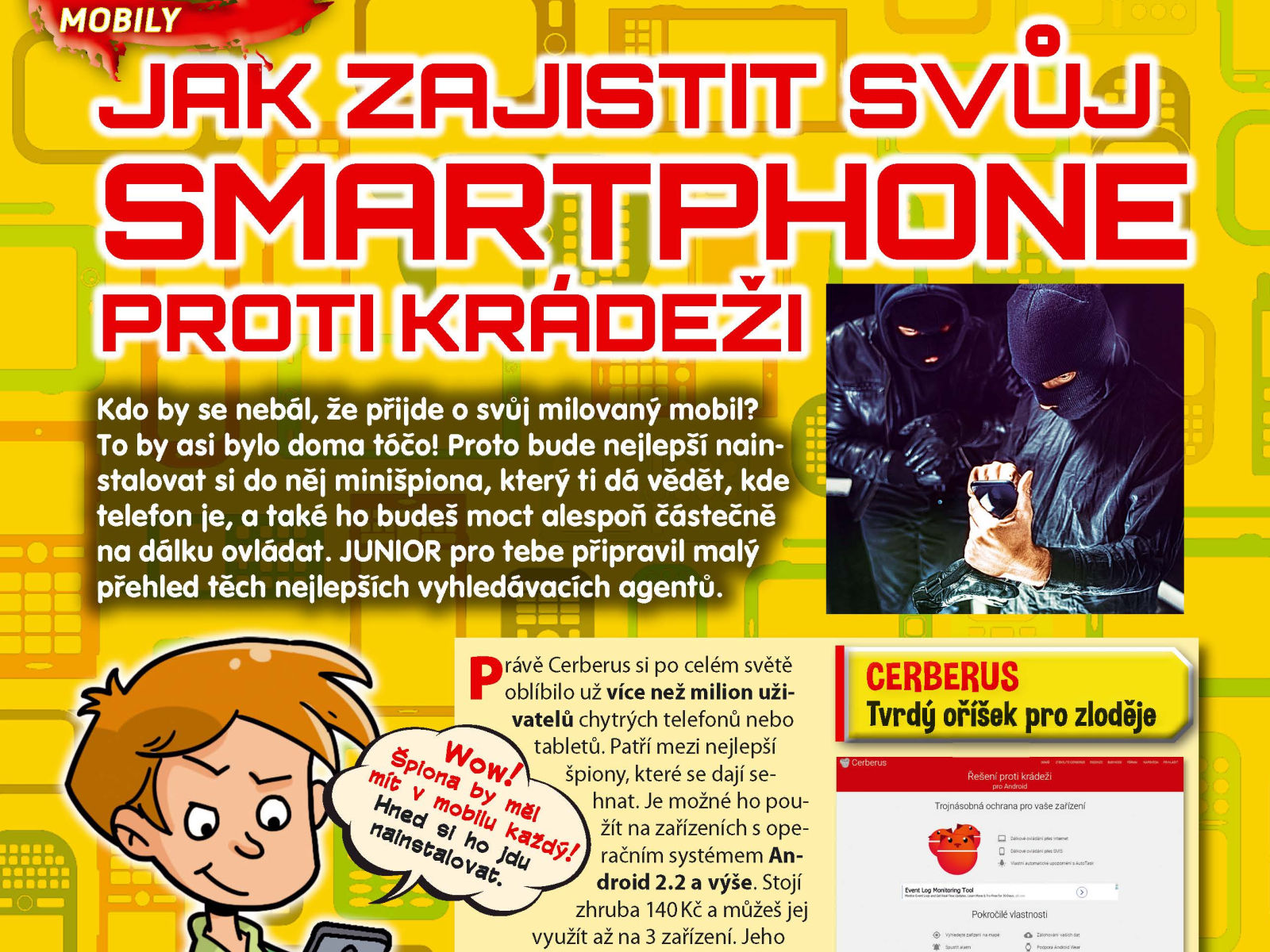 Ochrana smartphonu