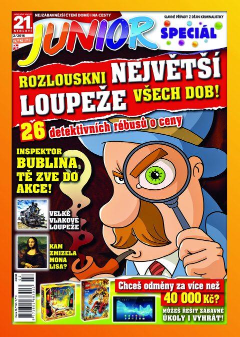 Aktuální číslo časopisu Junior speciál
