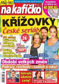 Křížovky České seriály – Můj čas na kafíčko 2/2018