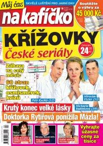 Křížovky České seriály – Můj čas na kafíčko 4/2018