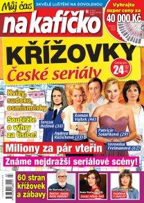 Křížovky České seriály – Můj čas na kafíčko 7/2018