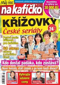 Křížovky České seriály – Můj čas na kafíčko 10/2018