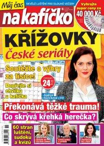 Křížovky České seriály – Můj čas na kafíčko 11/2018