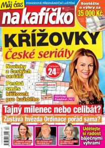 Křížovky České seriály – Můj čas na kafíčko 12/2018