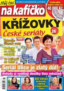 Křížovky České seriály – Můj čas na kafíčko 1/2019