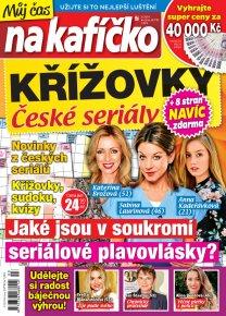 Křížovky České seriály – Můj čas na kafíčko 3/2019