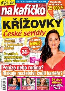 Křížovky České seriály – Můj čas na kafíčko 4/2019