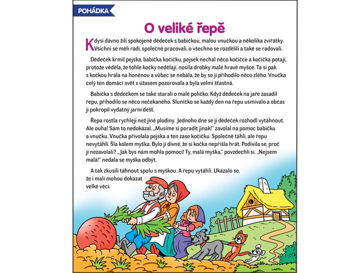 Pohádka O veliké řepě – RF-Hobby.cz