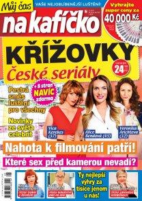 Křížovky České seriály – Můj čas na kafíčko 5/2019