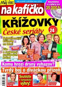 Křížovky České seriály – Můj čas na kafíčko 6/2019