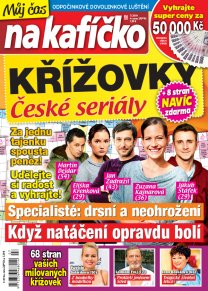 Křížovky České seriály – Můj čas na kafíčko 7/2019