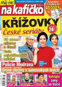 Křížovky České seriály – Můj čas na kafíčko 8/2019