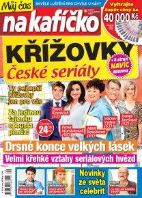 Křížovky České seriály – Můj čas na kafíčko 9/2019