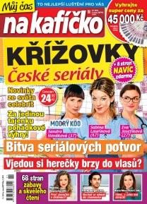 Křížovky České seriály – Můj čas na kafíčko 11/2019