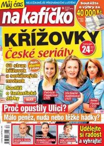 Křížovky České seriály – Můj čas na kafíčko 12/2019