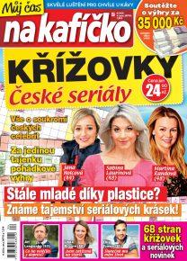 Křížovky České seriály – Můj čas na kafíčko 4/2020