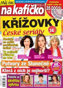 Křížovky České seriály – Můj čas na kafíčko 7/2020