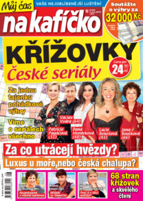 Křížovky České seriály – Můj čas na kafíčko 8/2020