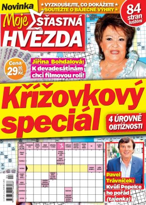 Křížovky Moje šťastná hvězda 4/2016