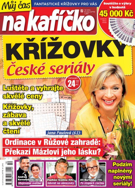 Můj čas na kafíčko – Křížovky: České seriály