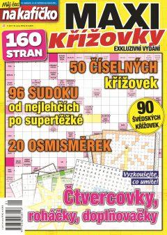Křížovky České seriály (Můj čas na kafíčko) 1/2017