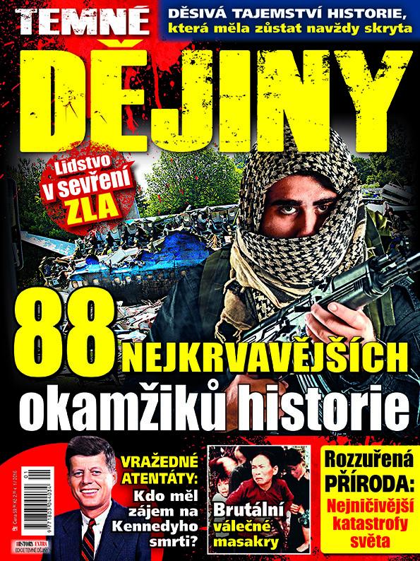 Aktuální číslo časopisu Edice temné dějiny