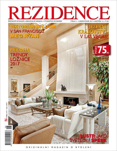 Aktuální číslo časopisu Rezidence
