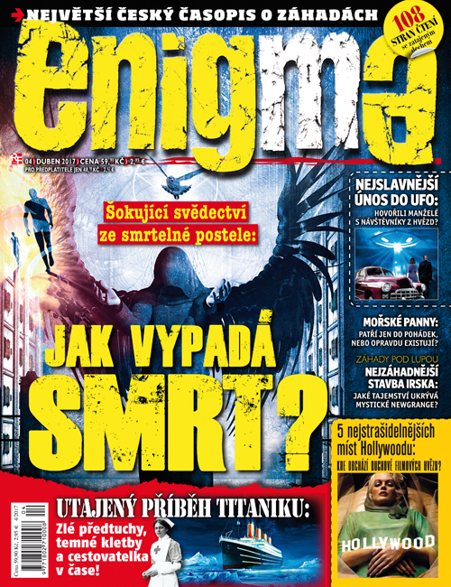 Aktuální číslo časopisu Enigma