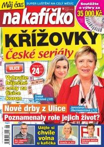 Křížovky České seriály – Můj čas na kafíčko 6/2017