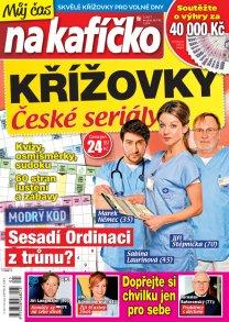 Časopis Křížovky České seriály – Můj čas na kafíčko
