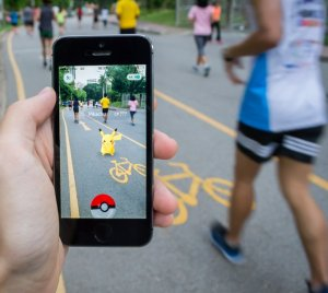 Bangkok, Thailand - July 22, 2016 : Pokemon Go is a new augmented reality game which lets you walk in the real world to catch the Pokemon.  Image ID:457427182 Copyright: Wachiwit Editorial Credit: Wachiwit / Shutterstock.com