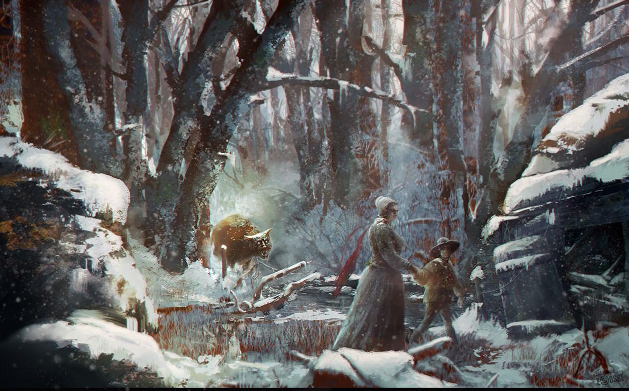 prisera v lese
