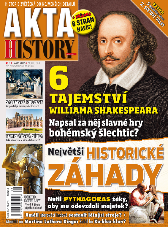 Akta History revue 1/2015