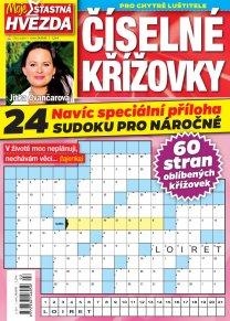 Časopis Číselné křížovky – Moje šťastná hvězda
