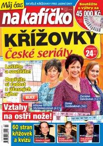 Křížovky České seriály – Můj čas na kafíčko 3/2017