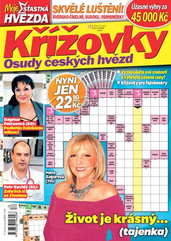 Moje šťastná hvězda – Křížovky: Osudy českých hvězd