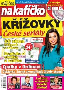Křížovky České seriály – Můj čas na kafíčko 9/2017